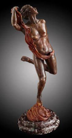 Carefree Sculpture by Leon Richman