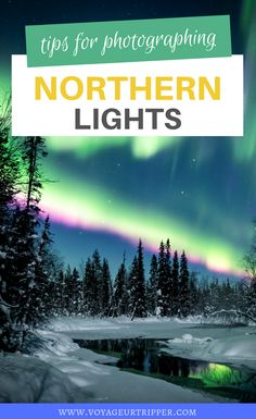Expert Tips for Photographing the Northern Lights including camera settings and how to edit them. I photography tips I tips for photography I northern lights photography tips I tips for taking photos of northern lights I outdoor photography tips I how to take great photos I #photography #northernlights Outdoor Photography, Light Photography, Photography Tips, Travel Photography, Sweden Travel, Finland Travel, Solar Activity, European Travel Tips, Adventure Activities