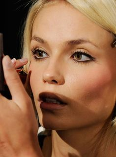 Mary Greenwell's timeless make-up tips: Stick to brown, black or grey pencils