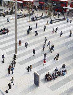 King's Cross Square - Hardscape #landscapearchitectureplan