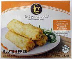 Egg rolls! Yes! $4.83 Feel Good Foods Chicken and Vegetable Gluten-Free Egg Rolls (Frozen - 0.50 Unit)