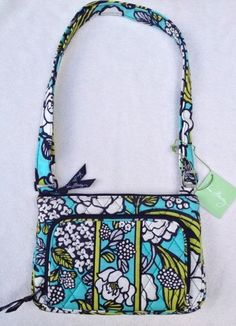 Vera Bradley Little Hipster in 2 colors + bonus. Starting at $24 on Tophatter.com!