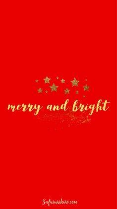 Free Christmas Phone Wallpapers | Safa Sunshine