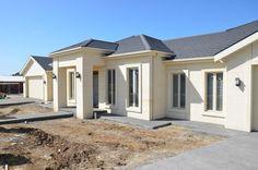 just built limestone house