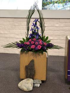 Altar Flowers, Church Flower Arrangements, Floral Arrangements, Boquet, Opening Day, Floral Designs, Mom, Plants, Home Decor