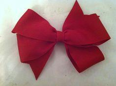 Pinwheel Ribbon Bow Tutorial   Made by Madison