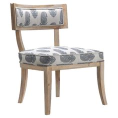 Fantail Side Chair in Light Pine