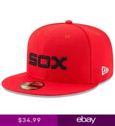 2b219ed1638f4 ... new zealand chicago white sox new era 2017 players weekend 59fifty  fitted hat red nwt 2c423