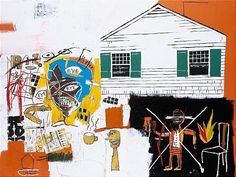 House eye by Jean-Michel Basquiat and Andy Warhol