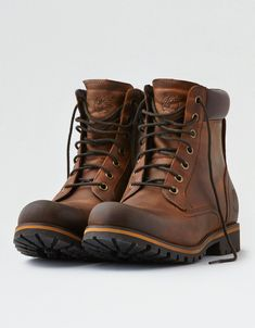 Shop Shoes for Men at American Eagle to get all the essentials. Browse men's sneakers, casual shoes, sandals and boots in all the newest designs only at AE. Cheap Mens Fashion, Mens Boots Fashion, Bottes Red Wing, Herren Outfit, Casual Boots, Dress Casual, Cool Boots, Mens Outfitters, Timberland Boots