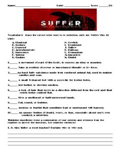 Suffer the Little Children by Stephen King Assignment