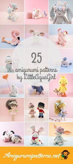 Amigurumi Patterns For Littleaquagirl