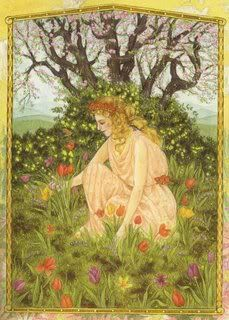 Eostre is a Germanic Goddess of fertility. Even the Christian holiday is named for her. Both festivals feature a theme of renewal and rebirth.