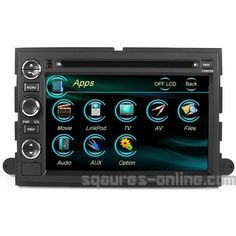 2004-2008 Ford F-150 2005-2012 Ford F-250/350/450/550 In-dash DVD GPS Navigation Stereo Bluetooth Hands-free Steering Wheel Controls Touch Screen iPod iPhone-Ready Deck AV Receiver CD Player Stereo Video Audio NAVI Radio Square S SS-9080FX w/ Digital TV Rear View Camera Option OEM Replacement  http://www.productsforautomotive.com/2004-2008-ford-f-150-2005-2012-ford-f-250350450550-in-dash-dvd-gps-navigation-stereo-bluetooth-hands-free-steering-wheel-controls-touch-screen-ipod-iphone-r..