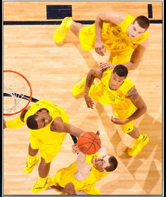 Congratulations to the Michigan Basketball team for beating Ohio State in overtime last night! #goblue #mgoblue