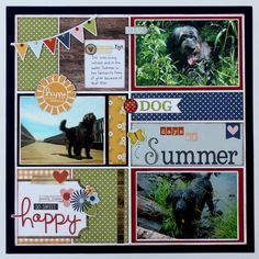 Scrappychick101's Gallery: Dog Days of Summer