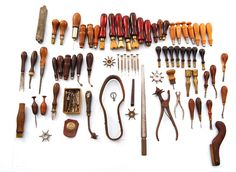 Assorted Leather Tool