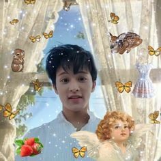 ଯ( ॢᴗ͈ˬᴗ͈)ॢഒ — mark cottagecore layout 🌱🐌 🔁 or 💘 if you save Edit Profile Picture, Living In Korea, Mark Nct, Golden Child, N Girls, Kpop Aesthetic, Nct Dream, Nct 127, Wall Prints