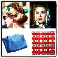#kinloch #headband #foulard #womenswear #accessories #silkaccessory #gracekelly #elegance #style #class #handkerchief
