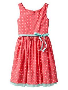 I LOVE this!!! Tulle dot dress | Gap