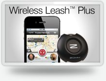 Next on my purchase list- Zoom's wireless leash plus - wirelessly tethers to bluetooth enabled phones.