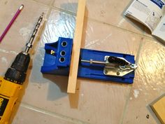 Detailed into about how to use a Kreg Jig  (for all those Ana White plans!!!)