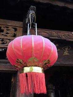 Chinese lampion, Old town of Lijiang, Yunnan, China, 2012