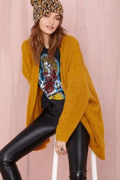 UNIF Hole Cardigan | Shop What's New at Nasty Gal