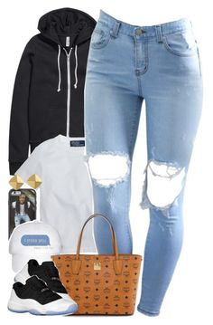"""""""Untitled #1440"""" by power-beauty ❤ liked on Polyvore featuring moda, H&M, Ralph Lauren, MCM, Retrò e Vince Camuto"""