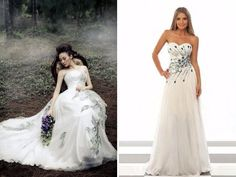 - Peacock Wedding Dress and Ideas for Decor - EverAfterGuide