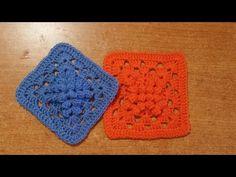 Tutorial uncinetto ❀ mattonella fiore d ondulato ❀ crochet