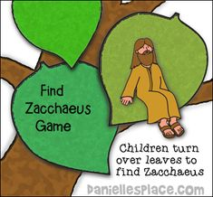 Zacchaeus Bible Crafts and and Activities for Sunday School Kindergarten Sunday School, Sunday School Games, Sunday School Lessons, Sunday School Crafts, School Kids, Preschool Bible Verses, Preschool Bible Activities, Bible Crafts For Kids, Kids Bible