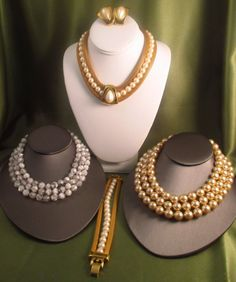 Lot of Jewelry C.Dior, Hattie Cartridge, Kenneth Lane : Lot 171