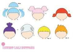 dolly rag doll hair sewing patterns lalaloopsy pdf pattern download