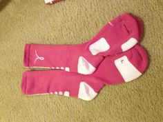 breast cancer Nike elites!!