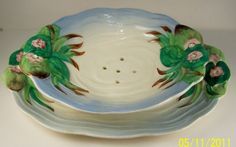 Pond & Lily Pattern - Clarice Cliff