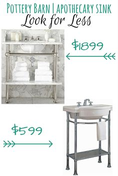Mason Apothecary Single Sink Console, Polished Nickel | Apothecaries,  Consoles And Sinks
