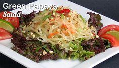 Vegan Green Papaya Salad from Vegan Fire and Spice by Robin Robertson