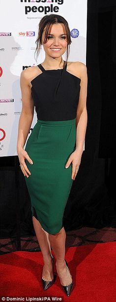 Samantha Banks at london critics circle film awards