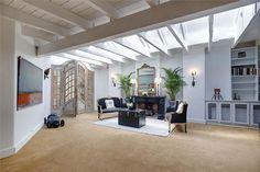 #Livingroom, doors #fireplace