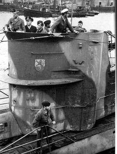U-201, a Type VIIC U-boat of the Kriegsmarine in World War II under the command of Kapitänleutnant Adalbert Schnee.