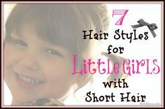 Adorable Hairstyles For Little Girls With Short Hair! #hairstyles #shorthairstyles #littlegirlhair