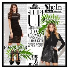 """shein 9"" by amelaa-16 ❤ liked on Polyvore featuring Oris and shein"