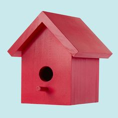 One-Board Birdhouse  Brought to you by Lowe's Creative Ideas    Want to see how a small shopping list can yield big results? Make this DIY birdhouse from a single pine board!