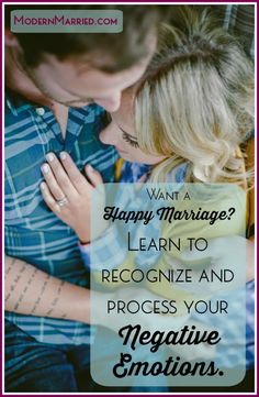 Learning to accept and process our negative emotions is one of the keys to emotional health. The side effect? A happier life and a stronger marriage..