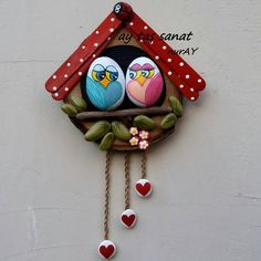 Most up-to-date Photo wall ornaments ideas Ideas Art N Craft, Craft Stick Crafts, Clay Crafts, Pebble Painting, Pebble Art, Stone Painting, Stone Crafts, Rock Crafts, Easy Crafts For Kids
