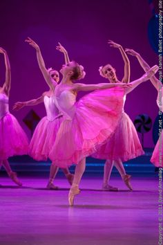 Waltz of the Flowers. Royal Danish Ballet