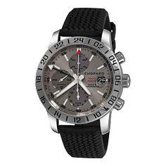 Chopard Men's 168992-3022 Mille Miglia GMT 2009 Chronograph Grey Dial Watch ¥40734