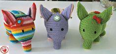 #Free Crochet Pattern! Three Versions of Elephant « The Yarn Box