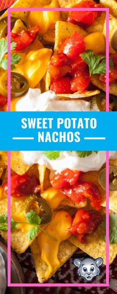 Sweet potatoes are the perfect nutrient-rich substitution when making nachos. Get your kids involved in the process by letting them add their favorite toppings!